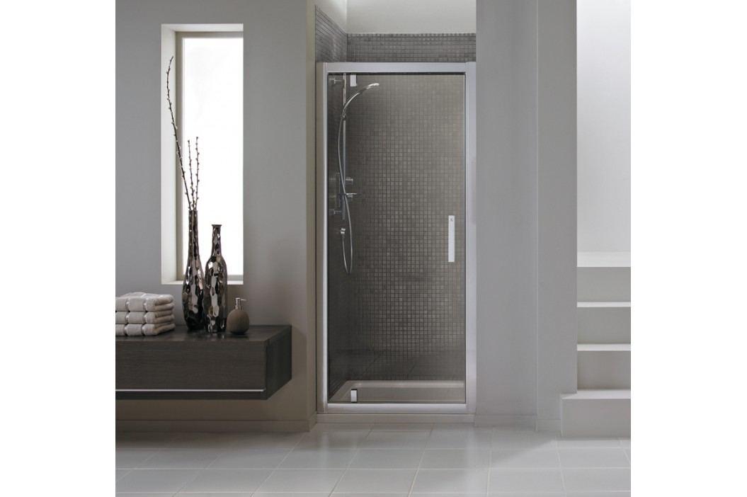Sprchové dveře Ideal Standard Synergy jednokřídlé 80 cm, čiré sklo, chrom profil L6361EO Sprchové zástěny