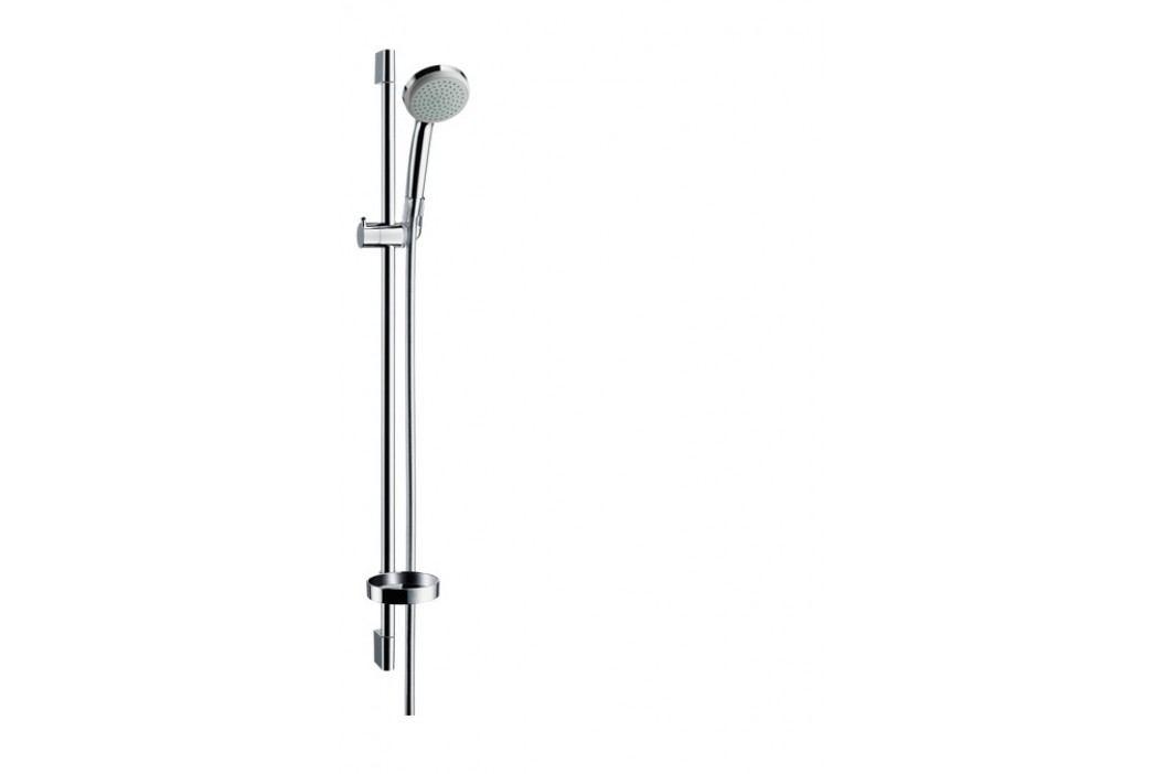 Hansgrohe Croma 100 Sada ruční sprchy 1jet/nástěnná tyč Unica'C 0,90 m, chrom 27724000 Sprchy a sprchové panely