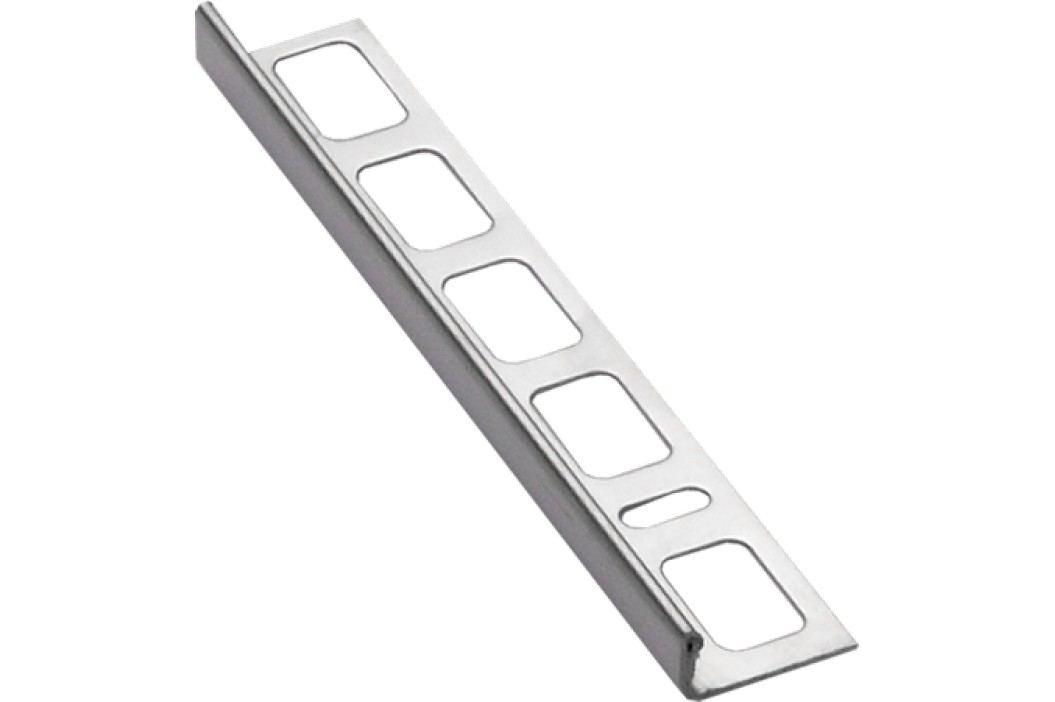 Lišta ukončovací L nerez, 4,5 mm, 250 cm NRZ4250 Podlahové lišty