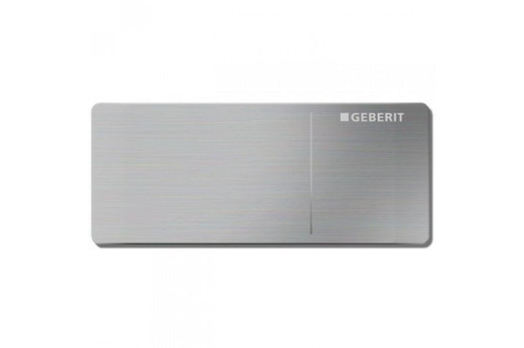 GEBERIT Omega70 Ovládací tlačítko OMEGA70, pro nádržky OMEGA, nerezová kartáčována ocel (115.084.FW.1) Ovládací tlačítka