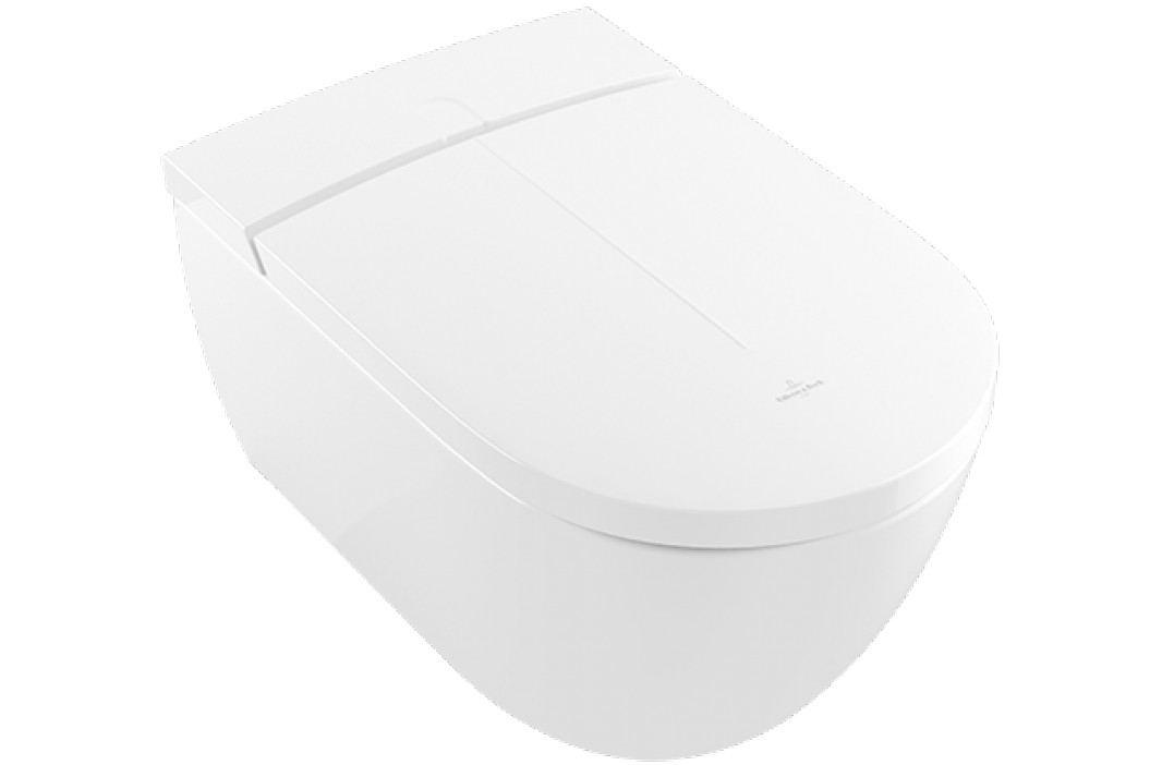 Závěsné WC s bidetem Villeroy & Boch Viclean, zadní odpad, 59,5cm V0E100R1 Záchody