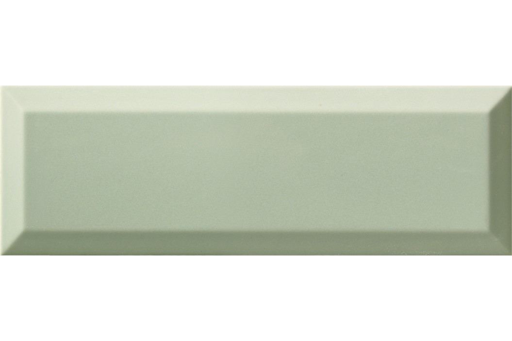 RIBESALBES Chic Colors light grey bisel 10x30cm lesk CHICC1664 Obklady a dlažby