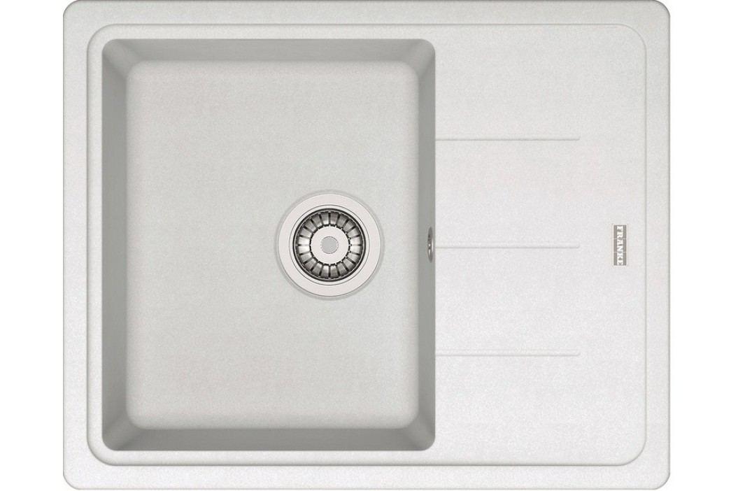 Franke BFG 611-62 bílá led Kuchyňské dřezy