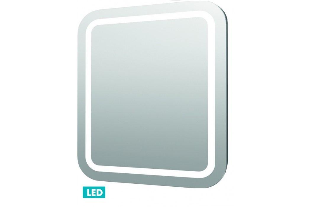 Zrcadlo s osvětlením led Iluxit 80x70 cm IP44, s vyhřívanou fólií a senzorem ZIL8070KTLEDS Zrcadla