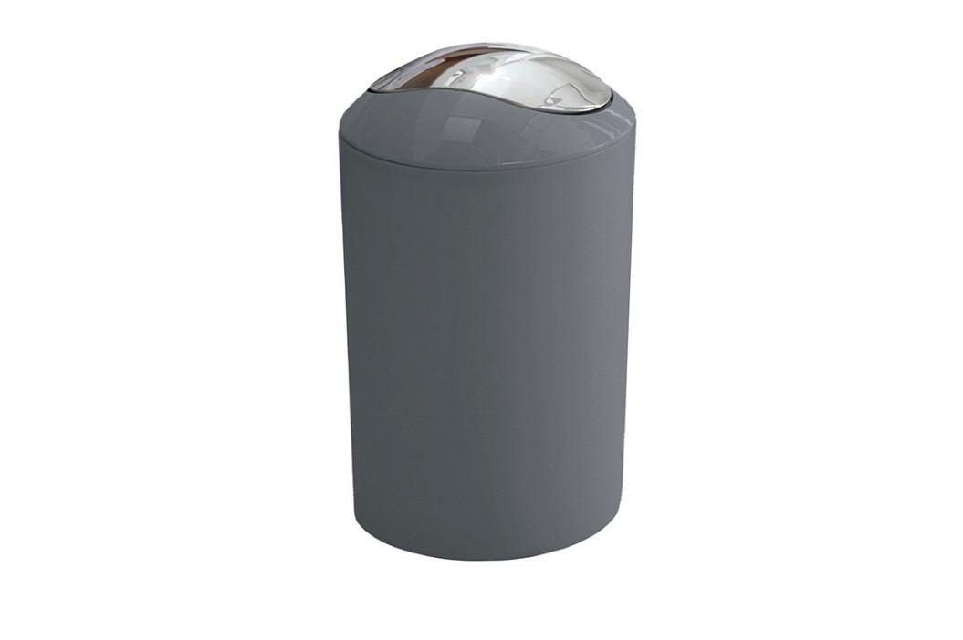 Odpadkový koš Glossy 5 l, antracit, plast 5063901858 Odpadkové koše