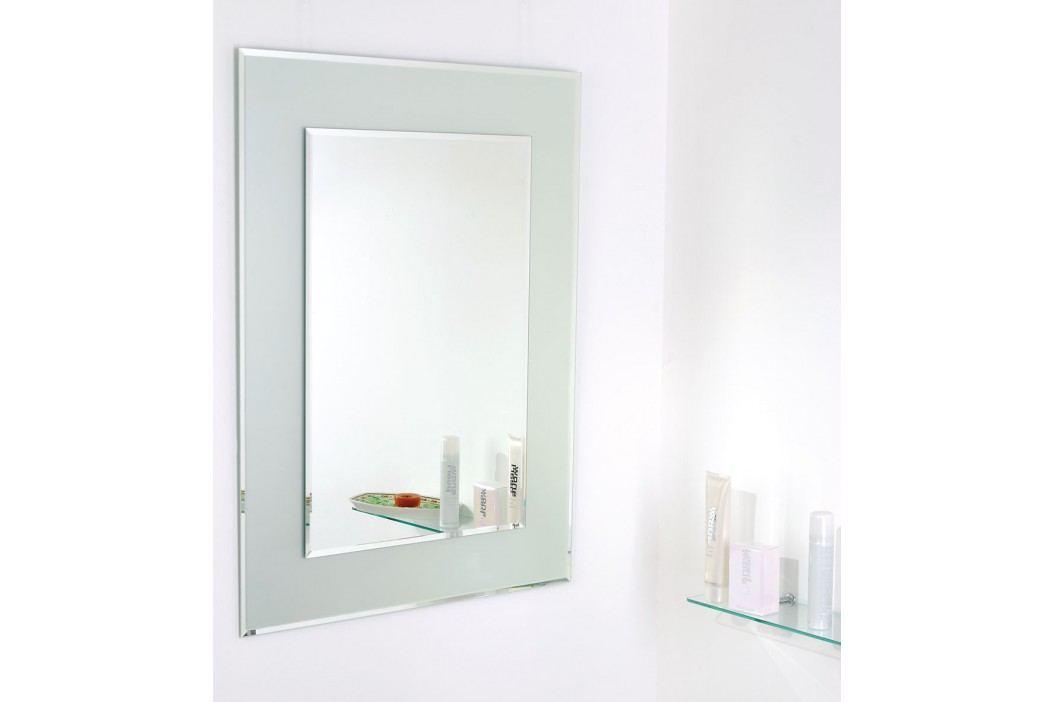 Amirro Snowqueen 80 x 60 cm s pískovaným podkladem 711-447 Zrcadla