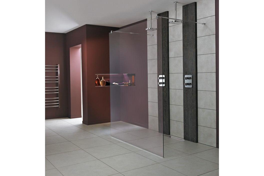 Pevná stěna Ideal Standard Wetroom Walk-in 100 cm, čiré sklo L6224EO Sprchové kouty
