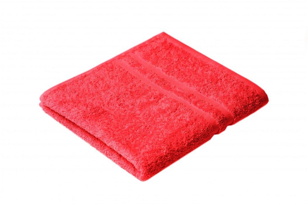 Ručník Ema 100x50 cm, červená, 400 g/m2 RUC033 Ručníky