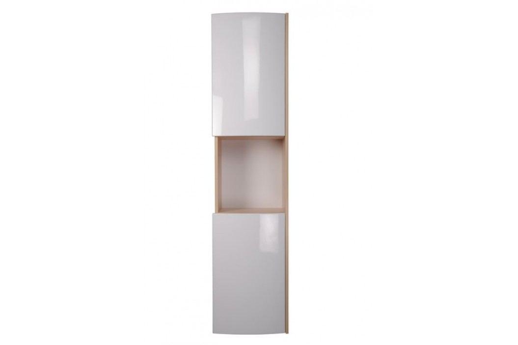 RAVAK SB Uni boční sloup bříza/bílá X000000166 Koupelnový nábytek