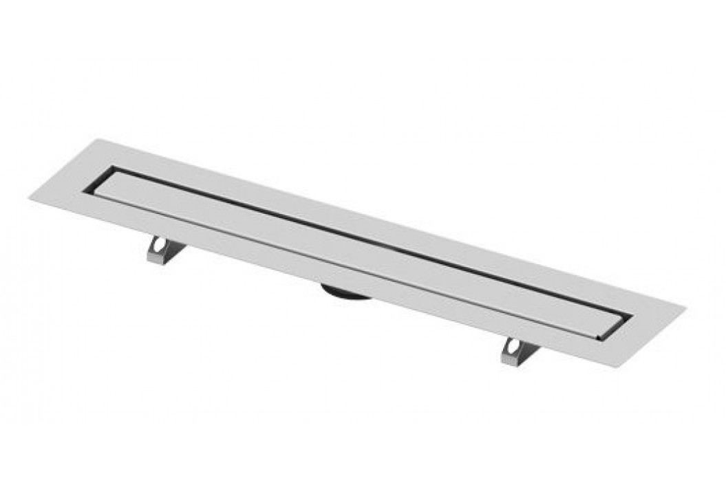 Sprchový žlab pro nalepení dlažby 80 cm Tece Drainline nerez 650800 Odvodňovací žlaby