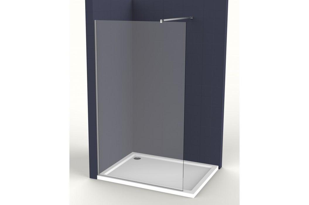 Pevná stěna Siko Walk-in Walk-in 80 cm, čiré sklo SIKOWI80 Sprchové kouty