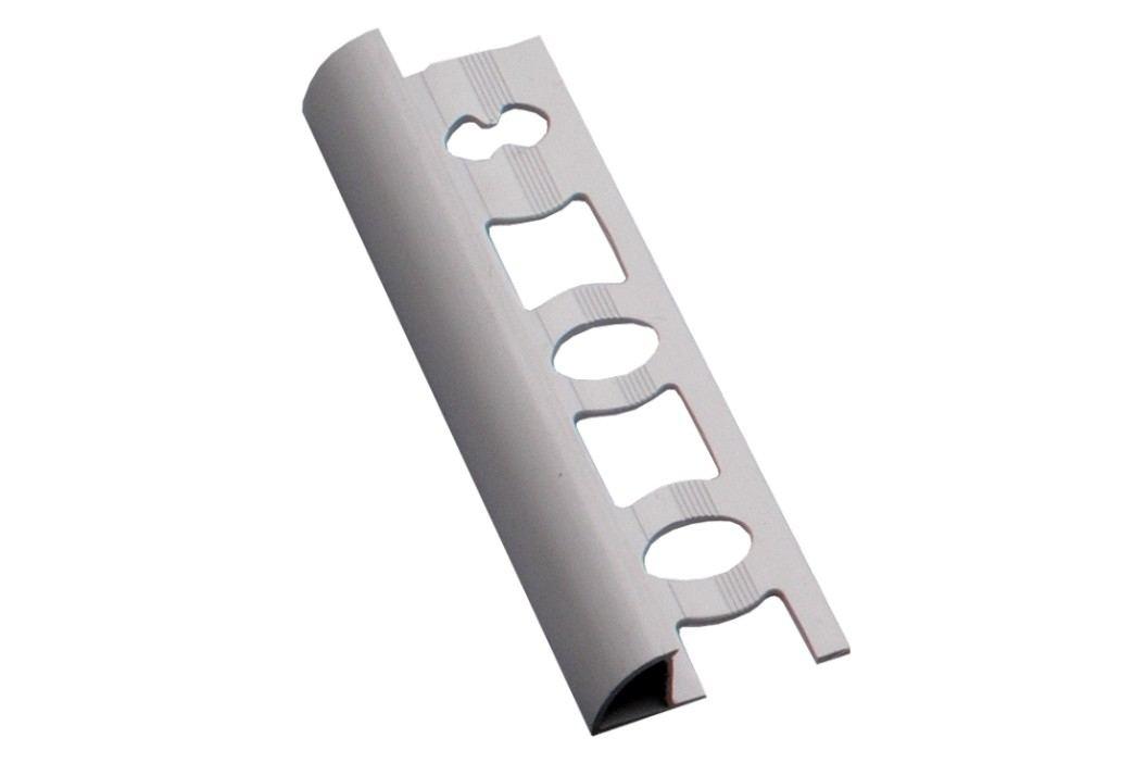 Lišta ukončovací oblá PVC bílá, 8 mm, 250 cm L8250 Podlahové lišty
