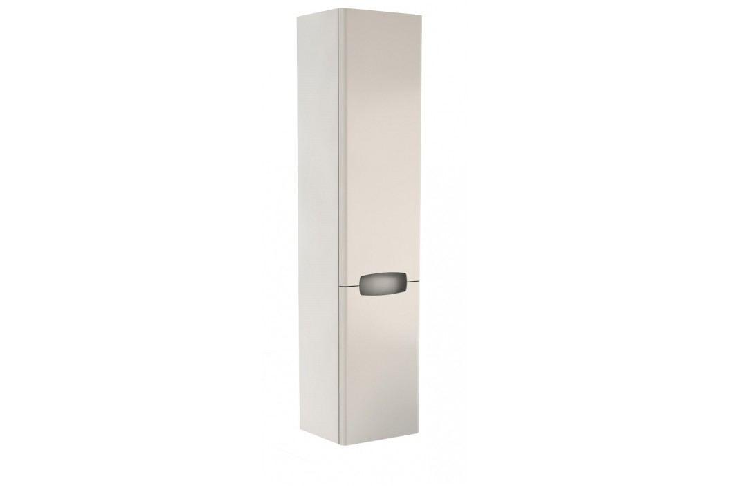 Skříňka Kolo Rekord 33 cm, bílá lesklá, univerzální otevírání SIKONKOR160BL Koupelnový nábytek