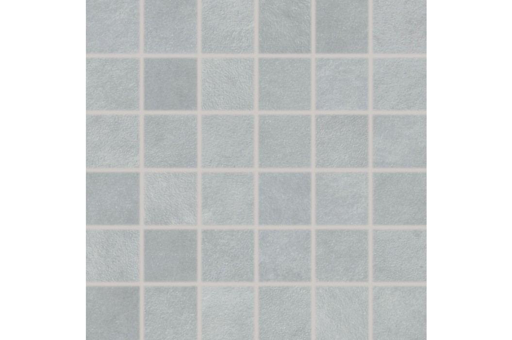 Mozaika Rako Extra světle šedá 30x30 cm, mat, rektifikovaná DDM06723.1 Obklady a dlažby