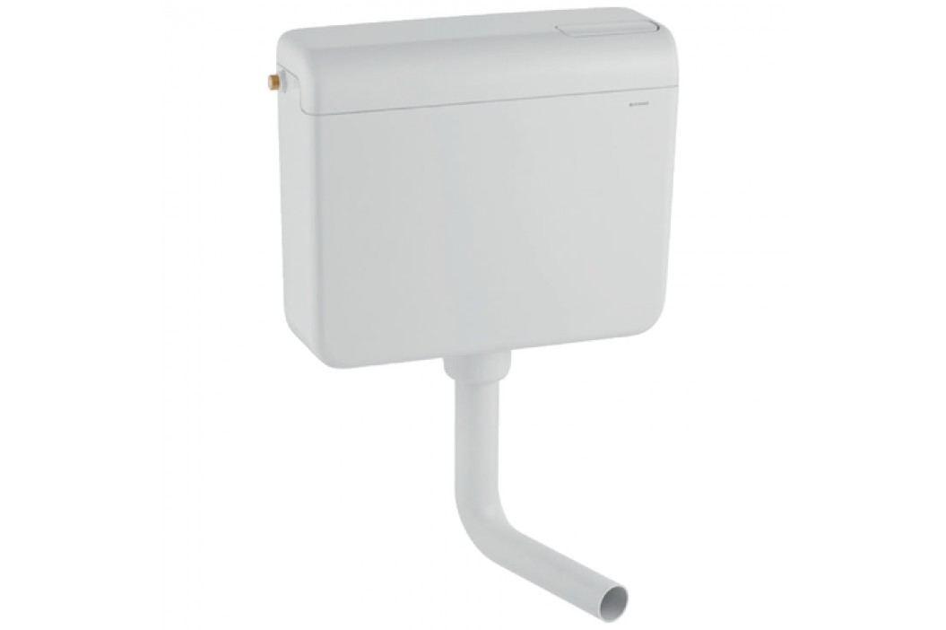 Splachovací nádržka AP112 GEBERIT, nízkopoložená, 6/9l, alspká bílá / 136.230.11.1 Instalatérské potřeby