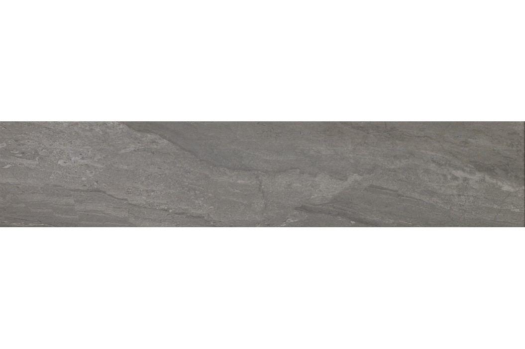 Dlažba Dom Stone Fusion coal 15x60 cm, mat, rektifikovaná DSF1504R Obklady a dlažby
