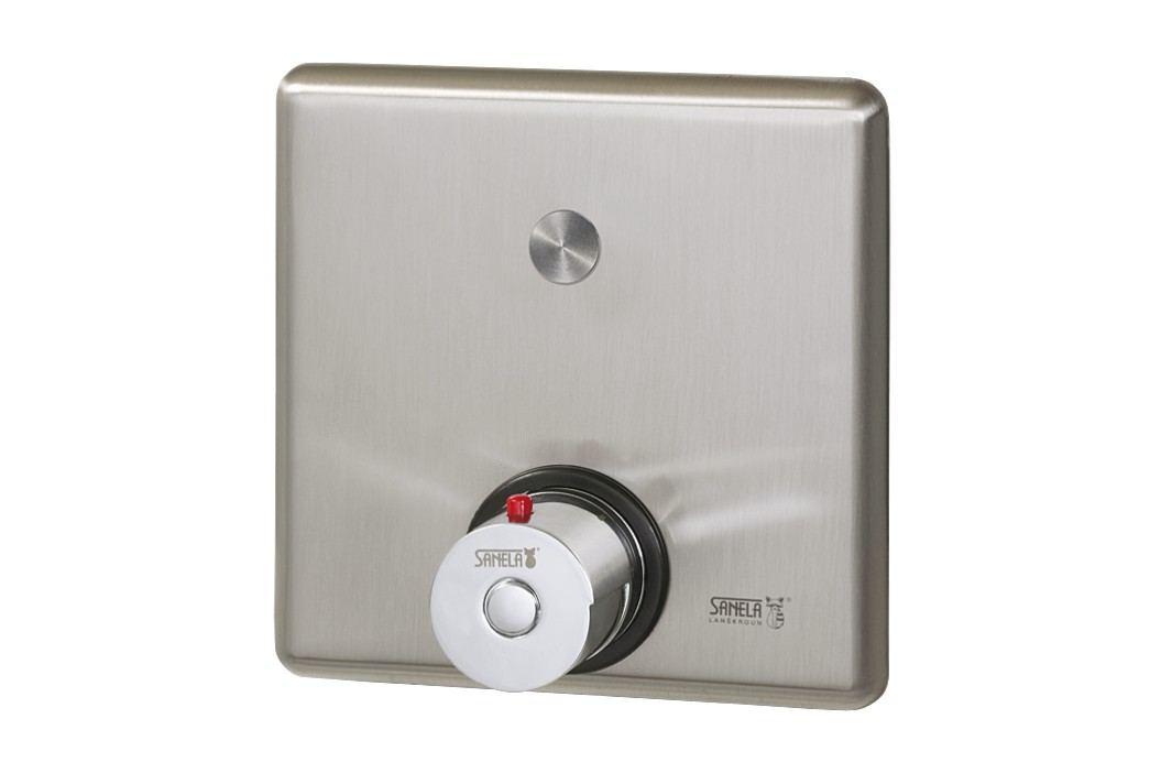 Sanela SLS 02PT - Piezo ovládání sprchy s termostatickým ventilem pro teplou a studenou vodu Koupelnové baterie