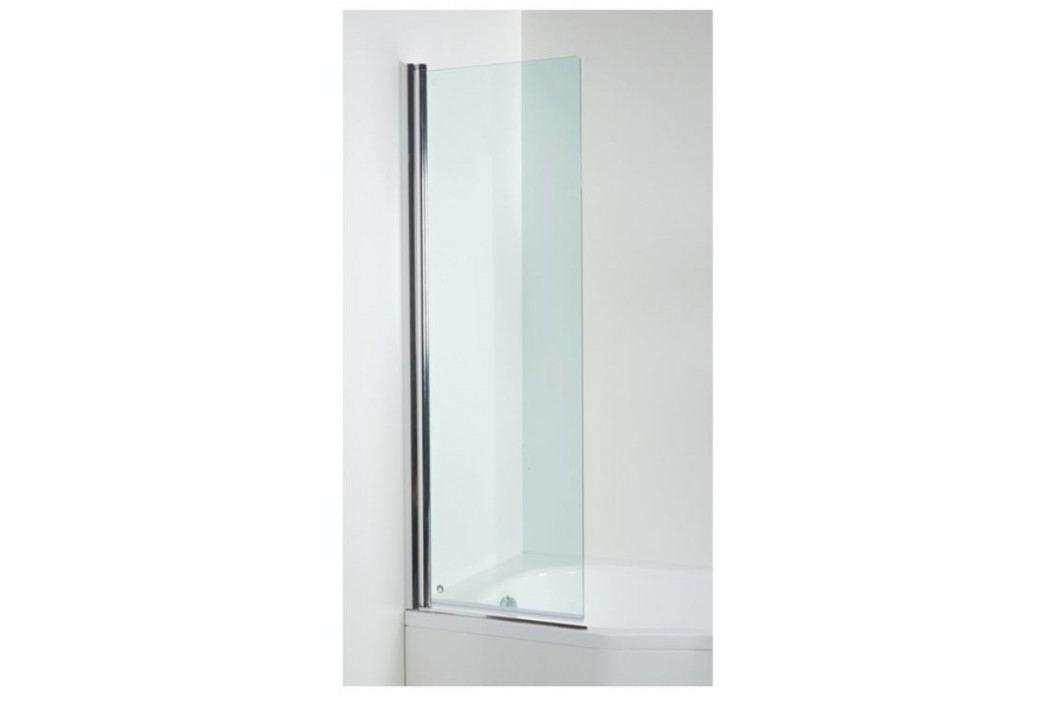 Vanová zástěna Jika Tigo 60x150 cm pravé, čiré sklo H2572120026681 Vanové zástěny