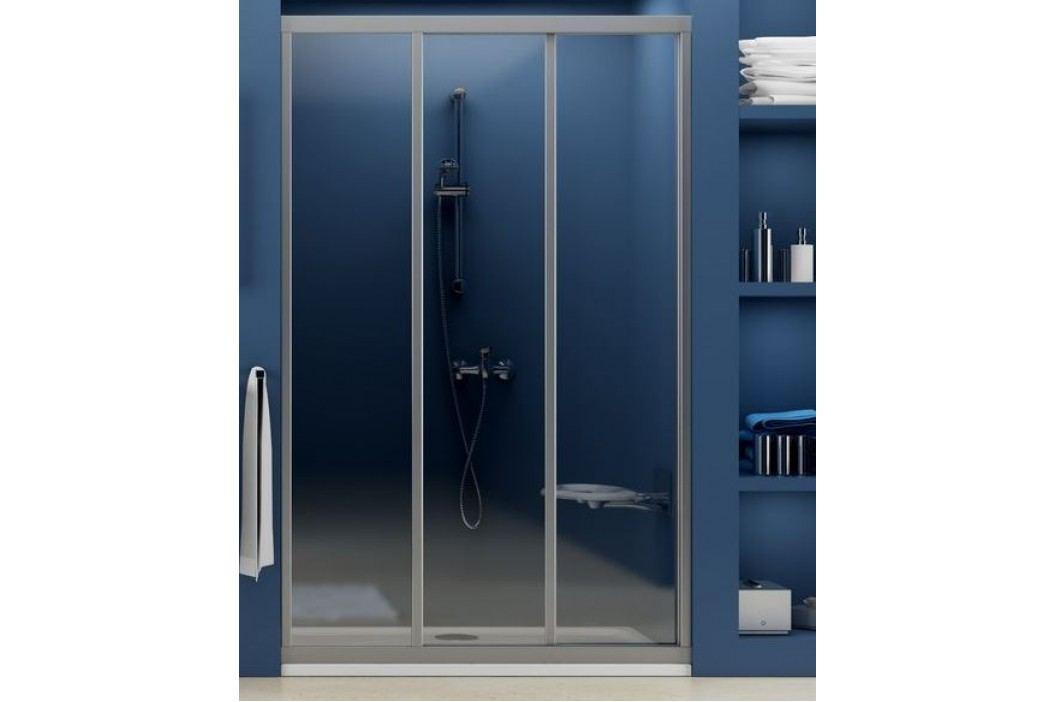 Sprchové dveře RAVAK ASDP3-90 satin+transparent 00V70U02Z1 Sprchové zástěny