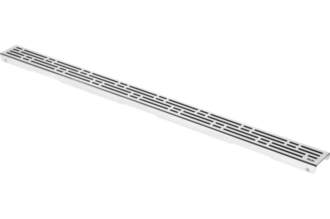 Rošt basic 120 cm Tece Drainline nerez mat 601211 Odvodňovací žlaby