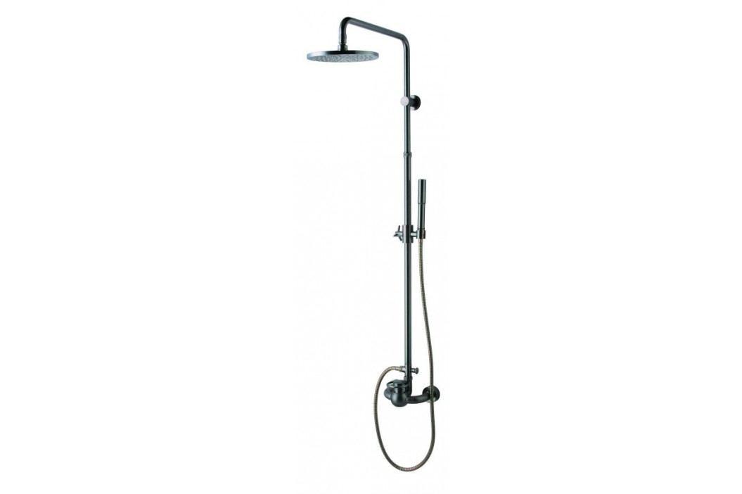 Sprchový systém WF Industrial s pákovou baterií, oblý SIKOBWFSSS Sprchové systémy