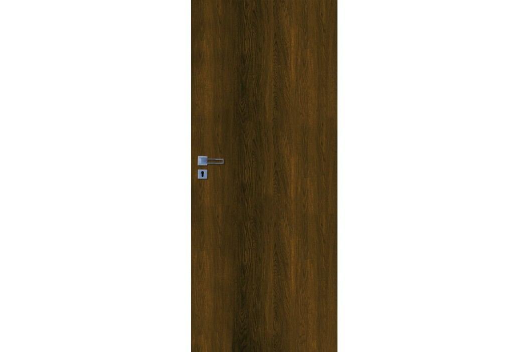 Interiérové dveře NATUREL Ibiza, 80 cm, pravé, ořech karamelový, IBIZAOK80P Výhodná nabídka dveří skladem