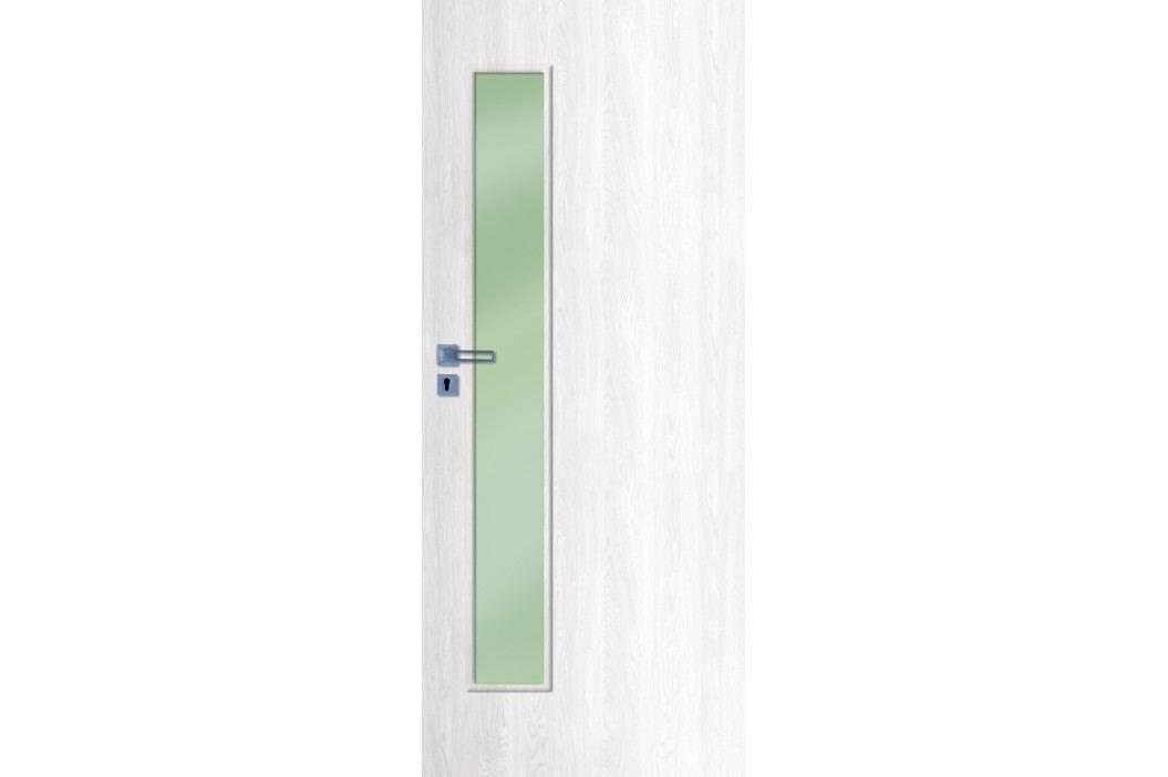 Interiérové dveře NATUREL Deca, 70 cm, pravé, borovice bílá, DECA10BB70P Výhodná nabídka dveří skladem