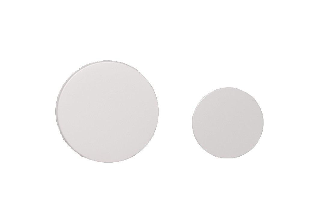 Ovládací tlačítko Tece Loop plast, bílá 9.240.663 Ovládací tlačítka
