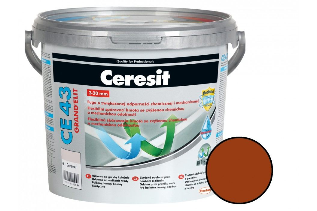 Spárovací hmota Ceresit CE43 5 kg clinker (CG2WA) CE43549 Spárovačky