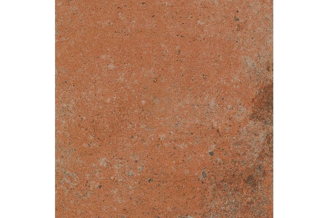 Dlažba Rako Siena cihlová 22,5x22,5 cm, mat, rektifikovaná DAR2W665.1 Obklady a dlažby