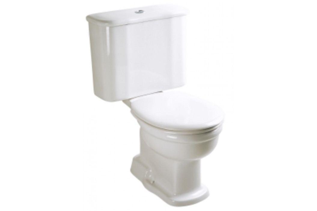 Stojící WC kombi Vitra Ricordi, zadní odpad, 70,5cm SIKOSVAR6285 Kompletní WC sady