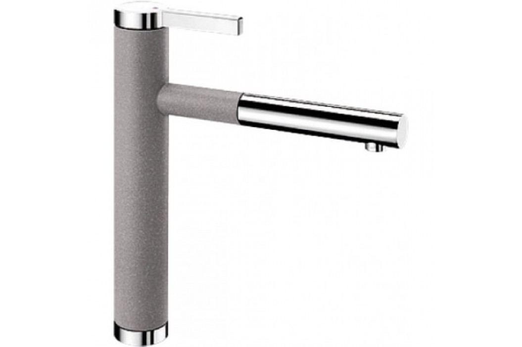 Blanco LINEE-S aluminium/chrom 518439 Kuchyňské dřezy