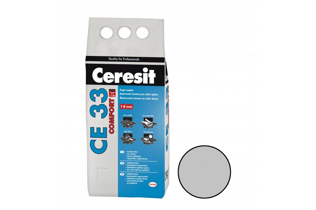 Spárovací hmota Ceresit CE33 2 kg manhattan (CG2) CE33210 Spárovačky