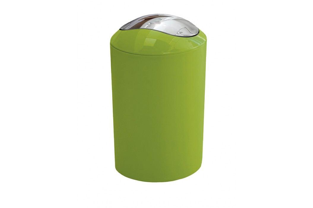 Odpadkový koš Glossy 5 l, zelená, plast 5063625858 Odpadkové koše