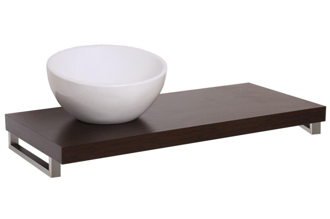 Deska pod umyvadlo Naturel Dolce 130 cm, wenge DO13050WE Koupelnový nábytek