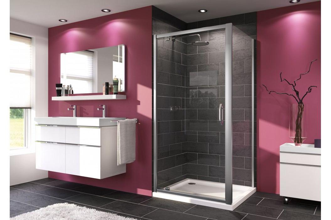 Sprchové dveře Huppe Next jednokřídlé 80 cm, čiré sklo, chrom profil 140701.069.322 Sprchové zástěny