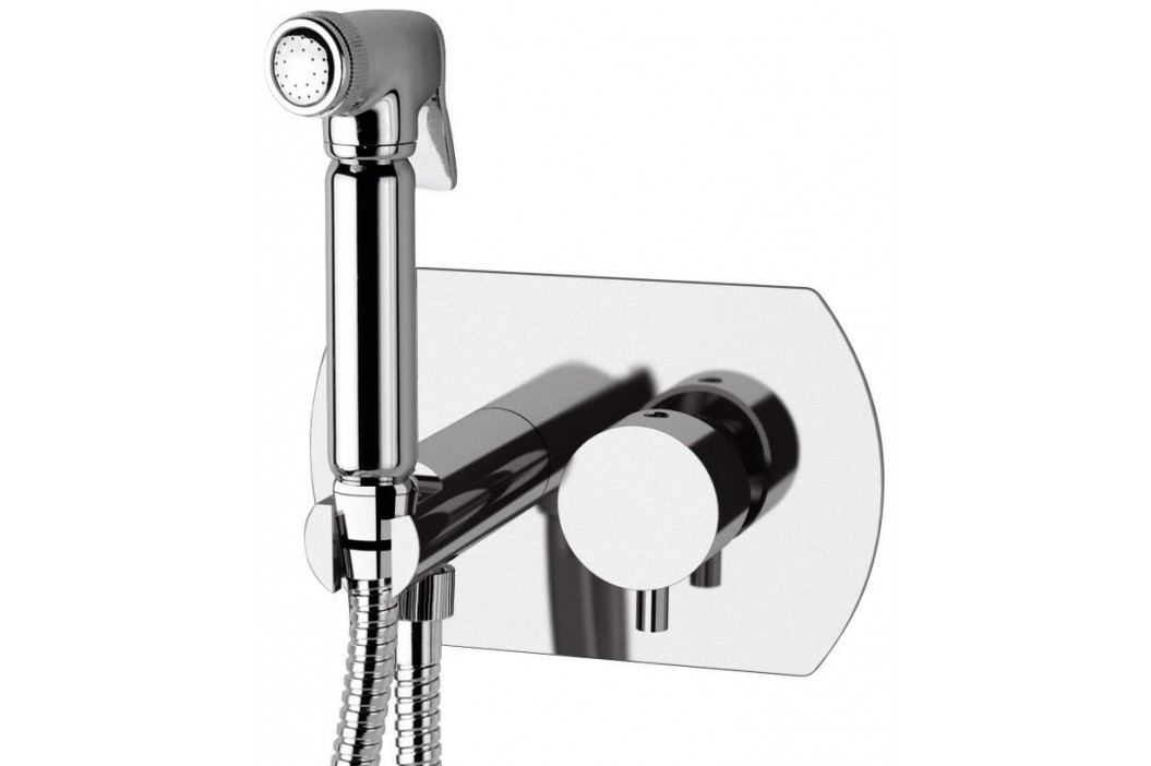 RHAPSODY podomítková baterie s bidetovou sprškou, kulatá, chrom Sprchy a sprchové panely
