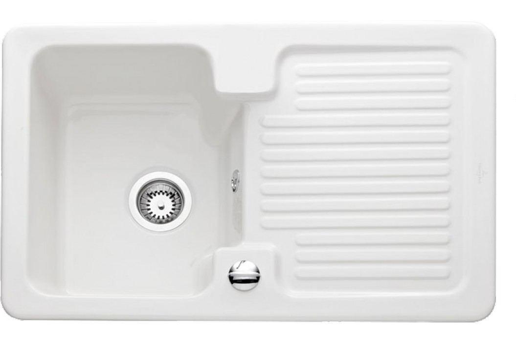 Dřez Villeroy & Boch Condor 45 80x51 cm bílá 674501R1 Kuchyňské dřezy