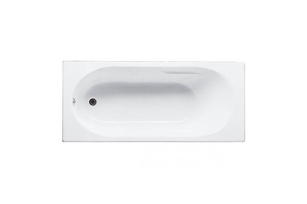 Obdélníková vana Jika Lyra plus 160x75 cm, akrylát, 170 l H2288390000001 Vany