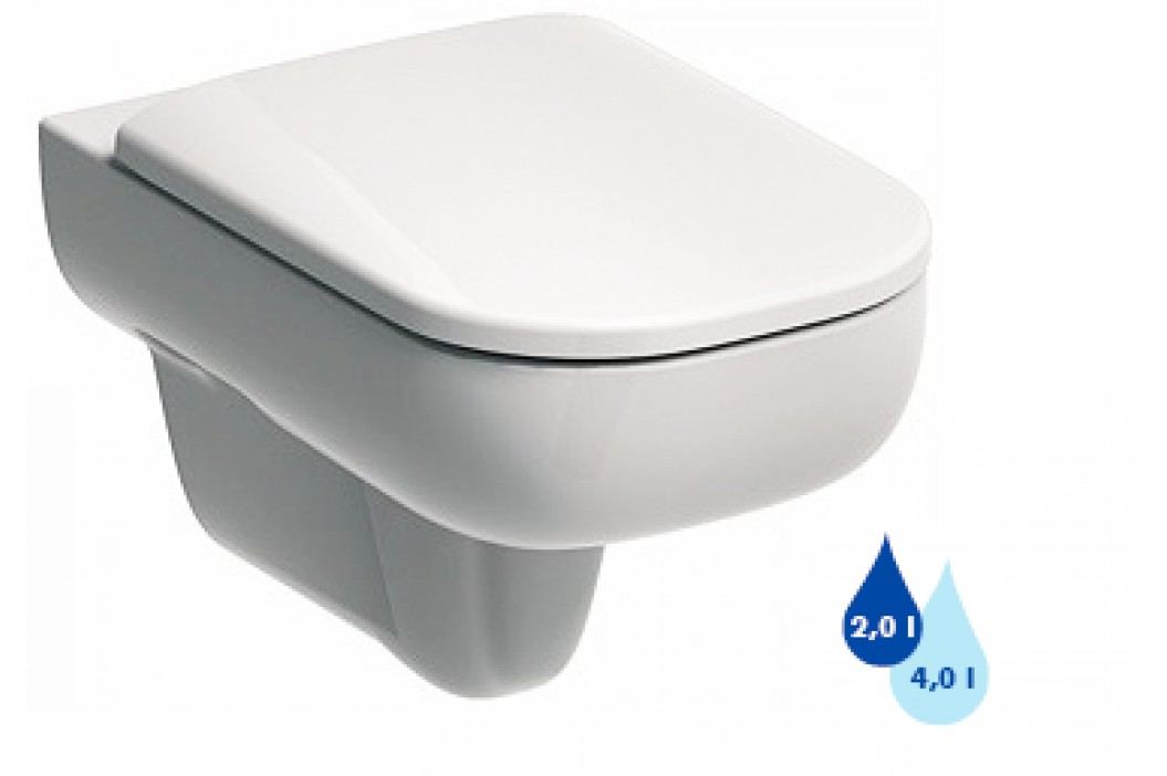 Závěsné WC Kolo Traffic, zadní odpad, 54cm L93100000 Záchody