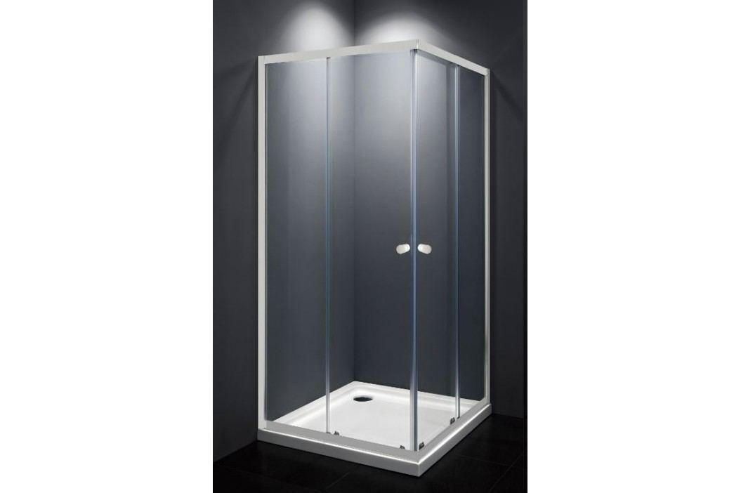 MULTI sprchový kout čtverec bílý 80x80cm - SIKOMUQ80T0 Sprchové kouty