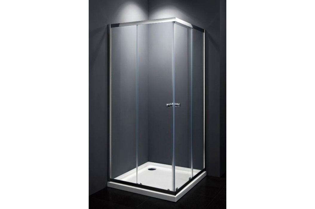 Sprchový kout Multi Basic čtverec 90 cm, čiré sklo, chrom profil, univerzální SIKOMUQ90CRT Sprchové kouty