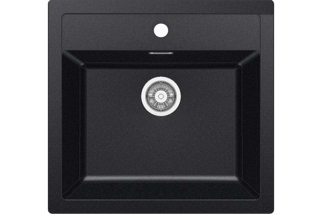 Dřez Franke 56x53 cm černá SID610C Kuchyňské dřezy