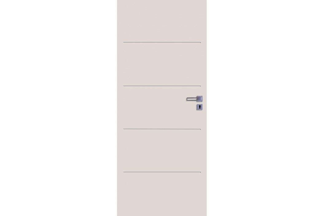 Interiérové dveře NATUREL Latino, 80 cm, levé, bílá, lak, LATINO2080L Výhodná nabídka dveří skladem
