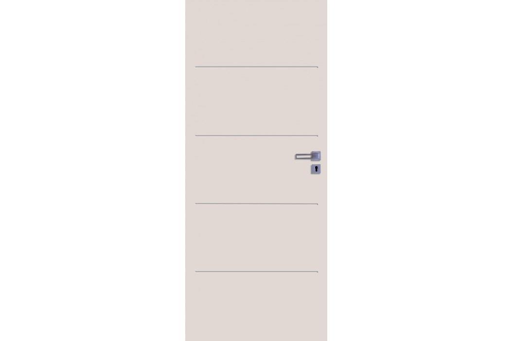 Interiérové dveře NATUREL Latino, 60 cm, levé, bílá, lak, LATINO2060L Výhodná nabídka dveří skladem
