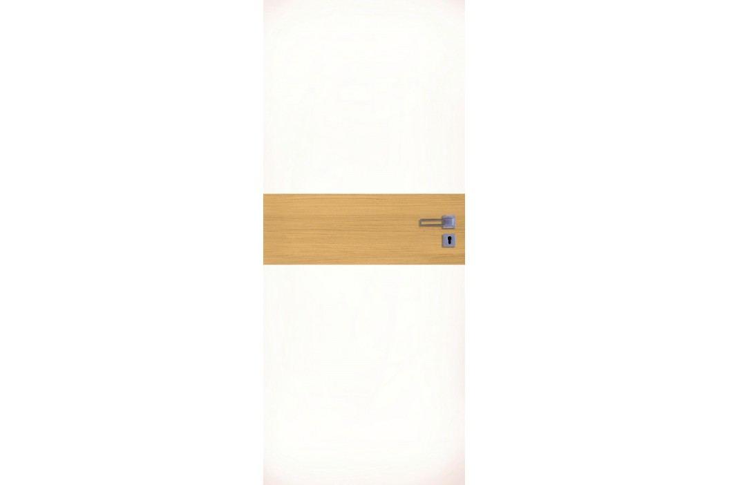 Interiérové dveře NATUREL Vari, 70 cm, levé, bílá, jilm, VARI10J70L Výhodná nabídka dveří skladem