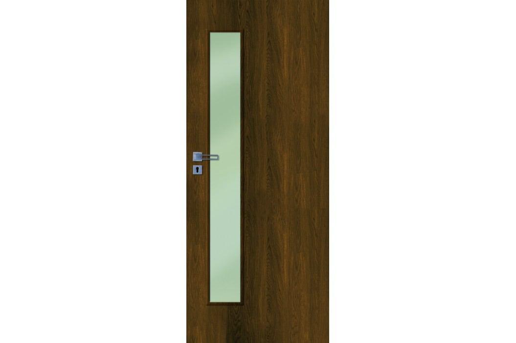 Interiérové dveře NATUREL Deca, 80 cm, pravé, otočné, DECA10OK80P Výhodná nabídka dveří skladem