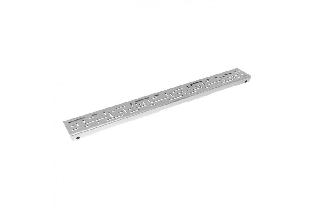Rošt lines 100 cm Tece Drainline nerez lesk 601020 Odvodňovací žlaby
