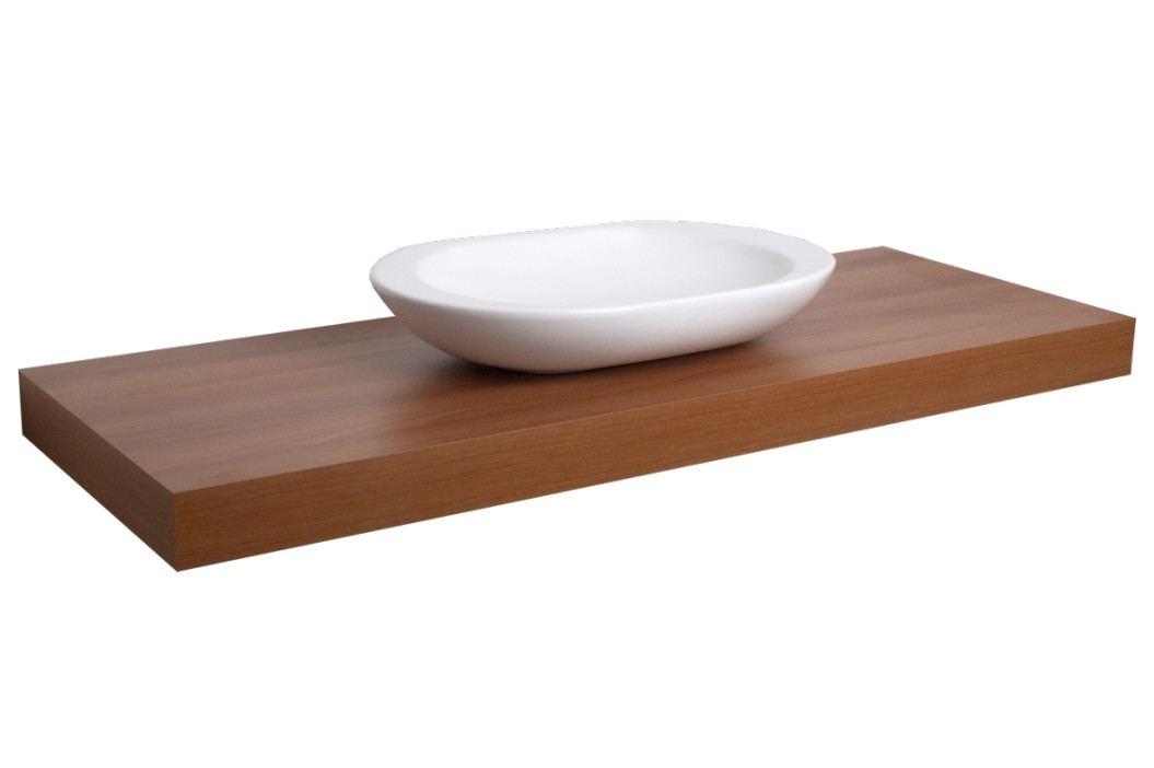 Deska pod umyvadlo Naturel Dolce 110 cm, ořech DO11050OR Koupelnový nábytek