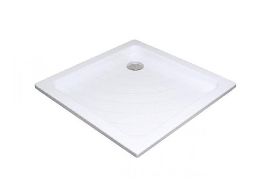 RAVAK Vanička Angela-80 LA white A014401220 Sprchové vaničky